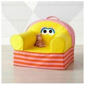 Land of Nod Sesame Street Big Bird Chair Cover NWT
